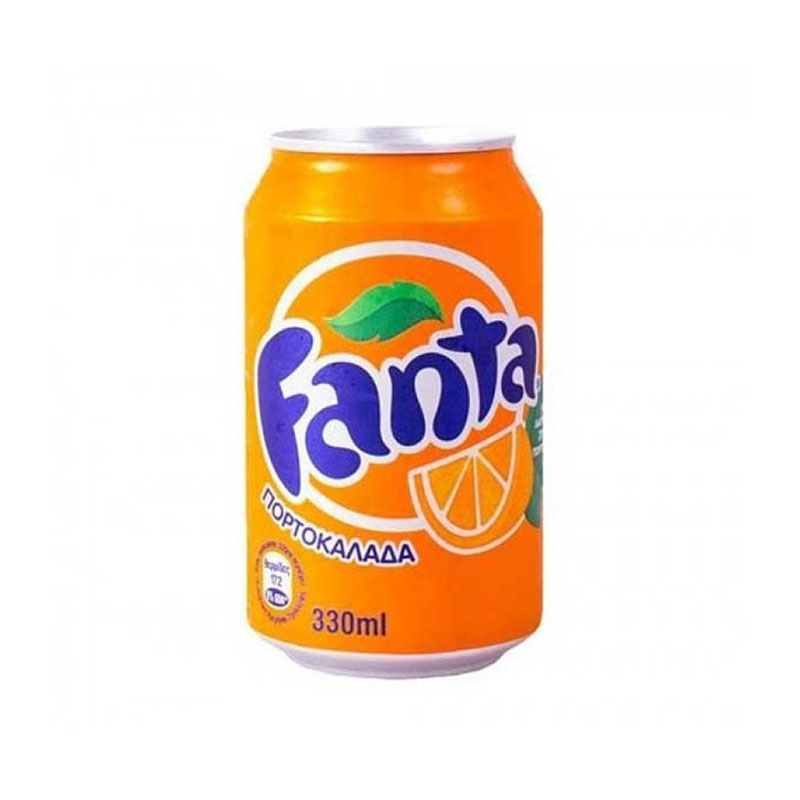 Fanta Πορτοκαλάδα 330ml
